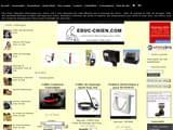 Boutiques en ligne Chiens : achat aliments, croquettes, collier, panier,... : Educ-Chien.com