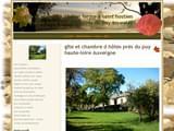 Gites de Charme Haute-Loire 43 au Puy-En-Velay, à Monistrol-Sur-Loire ... : Gite et chambres spa delorme