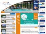 Boutiques en ligne Piscine : Abris Atlantika - fabricant abris de piscine bas - abris de piscine telescopiqu