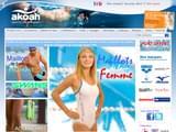 Boutiques en ligne Plongée : Akoah