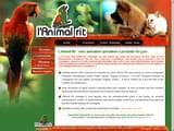 Boutiques en ligne Animaux : L´Animal Rit, animaux nourriture accessoires Lyon