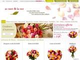 Boutiques en ligne Fleurs et plantes : Au nom de la rose