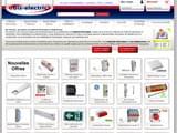 Boutiques en ligne Bricolage : Bis-electric matériel électrique en ligne