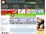 Boutiques en ligne Cyclisme : SOCIETE BLANC MARINE
