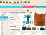 Boutiques en ligne Maroquinerie : Bleucerise