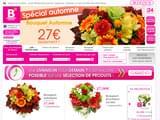 Boutiques en ligne Fleurs et plantes : le bouquet nantais