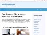 Boutiques en ligne Portails d achats et annuaires : Boutiques en ligne