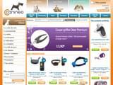 Boutiques en ligne Chiens : achat aliments, croquettes, collier, panier,... : Canineo