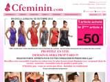 Boutiques en ligne Lingerie : CFeminin.com