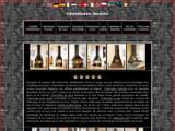 Boutiques en ligne Chauffage : Cheminees metalliques et inserts : cheminee centrale, murale, d´angle, suspendue