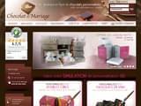 Boutiques en ligne Chocolat et confiserie : Chocolat de Mariage - Cadeaux invités