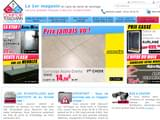 Boutiques en ligne Décoration : Comptoir toulousain carrelage