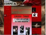 Cours de Tango Corse 20 à Ajaccio, Bastia, Porto-Vecchio ... : Corps Accord Tango