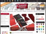Boutiques en ligne Cravates : Cravate Avenue