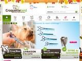 Boutiques en ligne Chiens : achat aliments, croquettes, collier, panier,... : Croquetteland