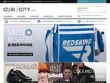 Boutiques en ligne Cuirs : Cuir-City.com