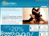 Boutiques en ligne Danse : dance-shop.fr