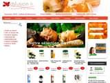 Boutiques en ligne Médecine alternative : DJFUSION, naturellement