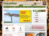 Boutiques en ligne Animaux : Ducatillon