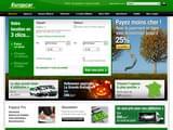 Boutiques en ligne Location : Europcar