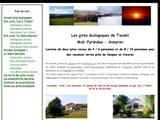 Gites de Charme Aveyron 12 à Rodez, Millau, Villefranche ... : Location gite écologique proche de Conques en Aveyron (Midi-Pyrénées)