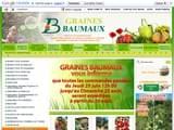 Boutiques en ligne Fleurs et plantes : Graines Baumaux