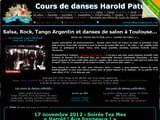 Cours de salsa Haute-Garonne 31 à Toulouse, Colomiers, Tournefeuille ... : cours de tango Harold Paturet à Toulouse
