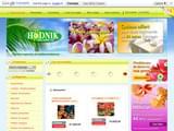 Boutiques en ligne Fleurs et plantes : Hodnik