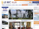 Immobilier Morbihan Vannes : Agence Le Bec Immobilier