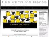 Boutiques en ligne Parfums : parfumerie en ligne, discount, moins cher : Les Parfums Rares