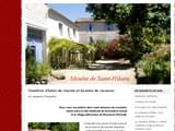 Gites de Charme Languedoc-Roussillon : MOULIN DE SAINT-HILAIRE
