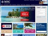 Croisieres maritimes Caraïbes : MSC Croisières