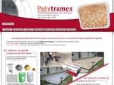 Boutiques en ligne Maison et jardin : Polytrames béton décoratif