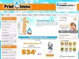 Boutiques en ligne Fournitures de bureau : Printimmo, l´imprimeur des professions immobilieres