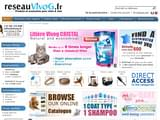Boutiques en ligne Chiens : achat aliments, croquettes, collier, panier,... : reseauVivog.fr