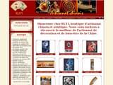 Boutiques en ligne Artisanat du monde : achat en ligne : Art et Artisanat d´asie-RUYI