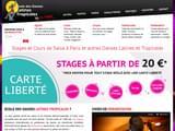 Cours de salsa Paris 75 : l´Ecole de danse latine-tropicale