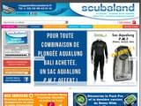 Boutiques en ligne Plongée : Subaland