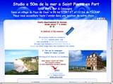 Gites de Charme Seine-Maritime 76 à Rouen, Le Havre, Dieppe, Fecamp ... : A 50m de la mer entre Etretat- St Valery en Caux