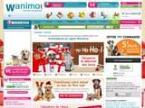 Boutiques en ligne Animaux : Wanimo