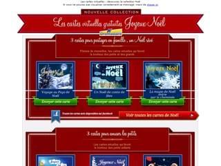 Cartes virtuelles gratuites Joyeux Noël