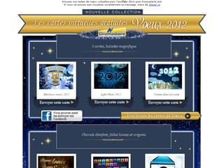 Cartes virtuelles gratuites Bonne année