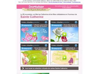 Newsletter Sainte Catherine