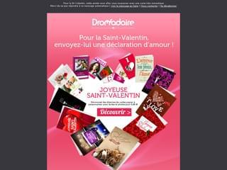 Déclarez votre flamme pour la St-Valentin