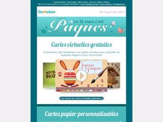 Newsletter Pâques