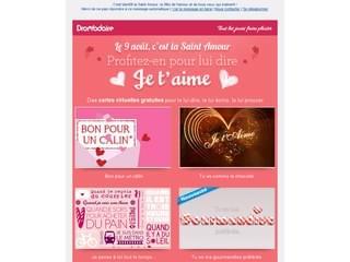 Envoyez des cartes d'amour
