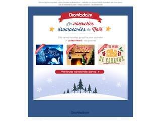 Découvrez les nouvelles cartes de Noël