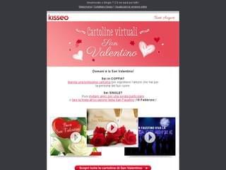 Newsletter San Valentino