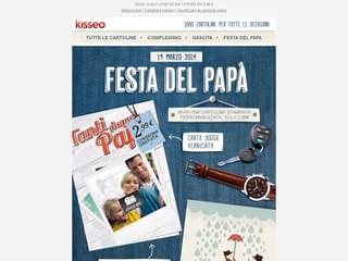 Auguri stampati per la festa del papà