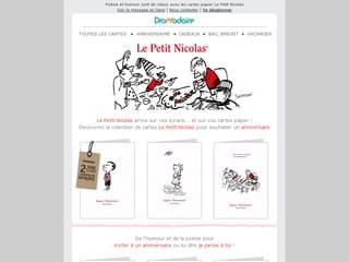 Cartes Le Petit Nicolas